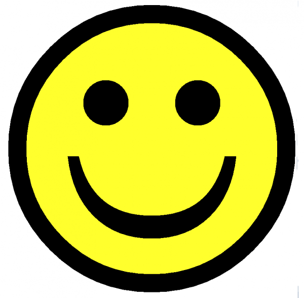 Smileys clipart yellow Smiley on Clip library Clip