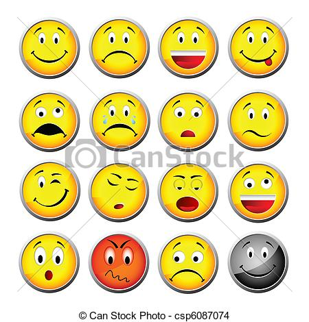 Smileys clipart yellow And 565 Smiley free Illustrations