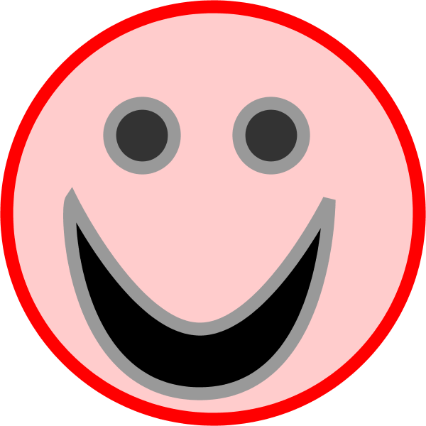 Smileys clipart circle  Face emotions clip Smiley
