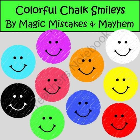 Smileys clipart colorful Mayhem Pinterest on Style Face