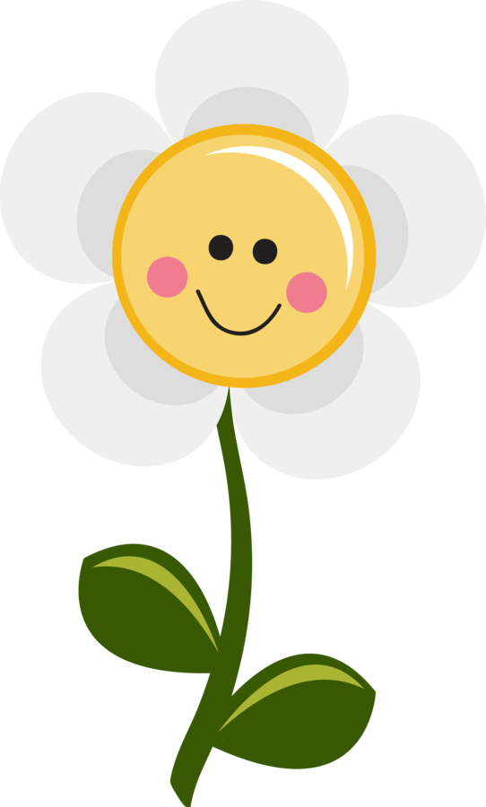 Yellow Flower clipart smily Art Minus you png are