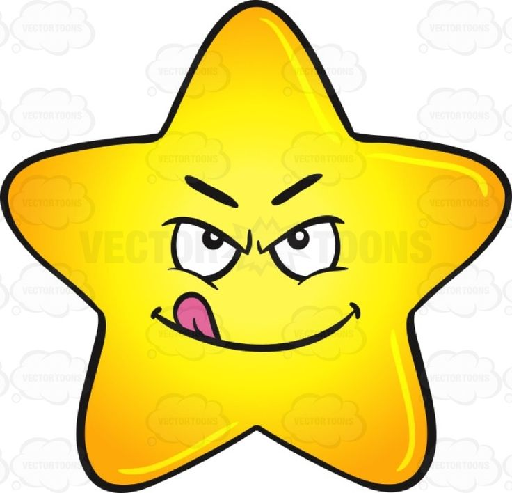 Smileys clipart disgust Single Star ideas With Gold