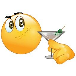 Smileys clipart drinking water Images Pinterest emoji and eating