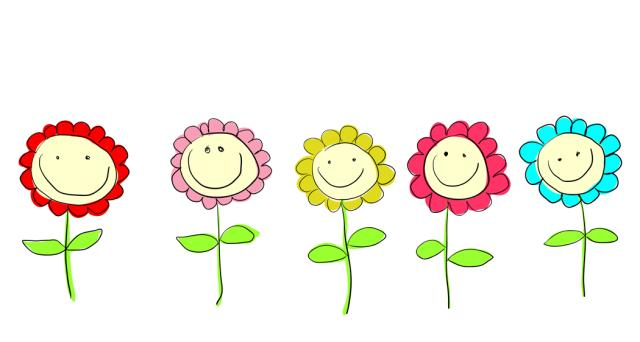 Smiley clipart flower Art smiling Clipground Clip flower