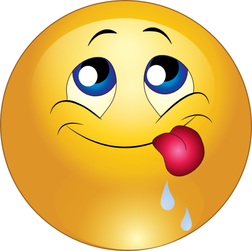 Smileys clipart friend Yum Smileys Delicious and yum