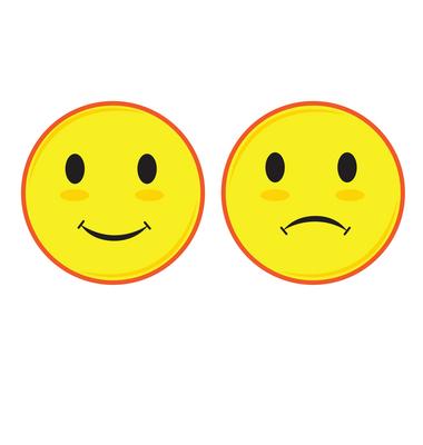 Smileys clipart frown Clipart smiley Sad vector clip