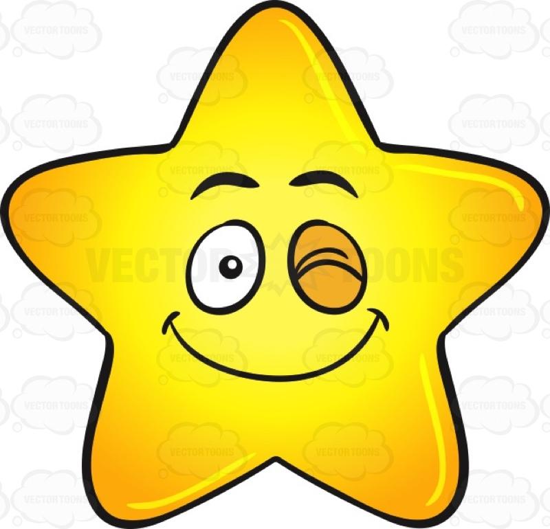 Bright clipart smiley face Cartoon Cartoon Single Tail Horns