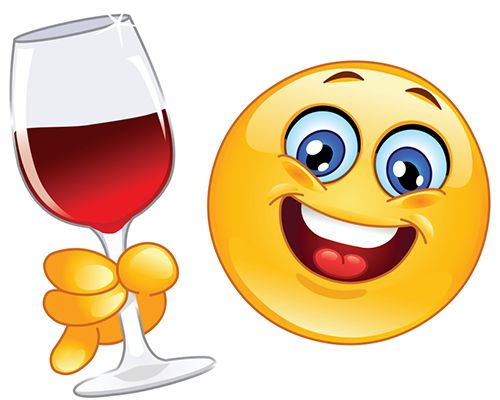 Smileys clipart hungry Best Smileys Red Wine on