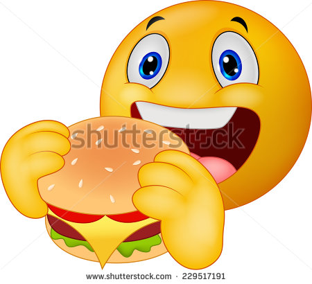 Smileys clipart hungry Emoticon eating Emoticon smiley ♥༺♥༺♥