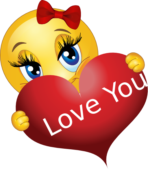 Smileys clipart love heart Emoticons For Gallery Love Best