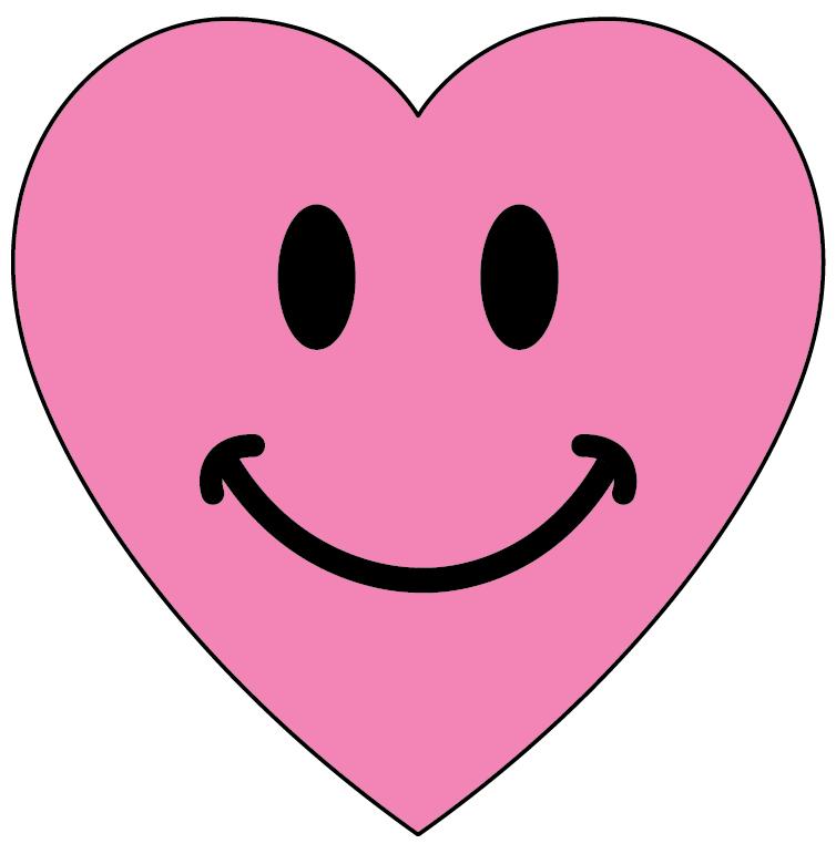 Hearts clipart smiley face  Smiley smiley Cute ClipArt