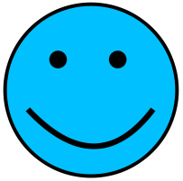 Smileys clipart mood Smiley Happy Clip Mood Blue