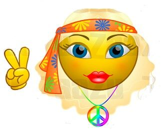 Smileys clipart peace Smiley more images Find on