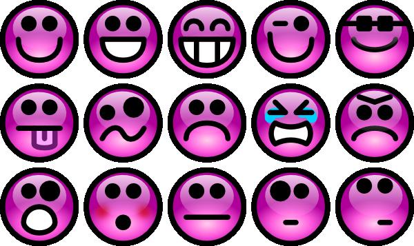 Smileys clipart pink This Faces clip com Art
