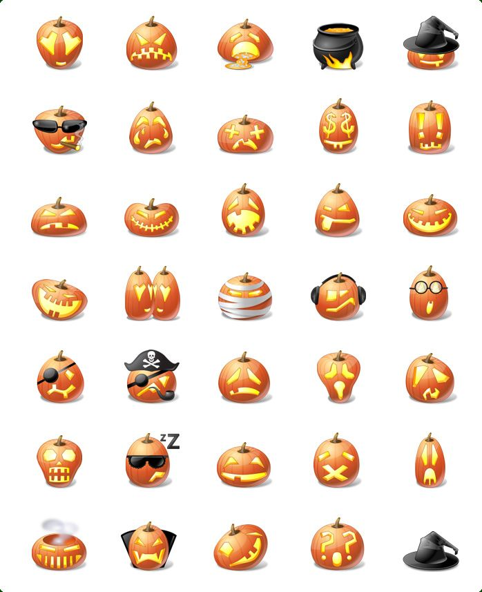 Smileys clipart pumpkin Pumpkin on Halloween Vista Pinterest