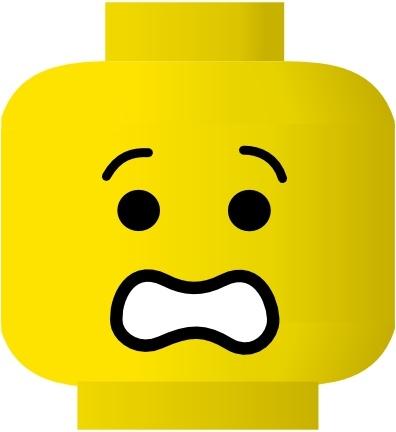Smileys clipart scared  Smiley vector clip Smiley