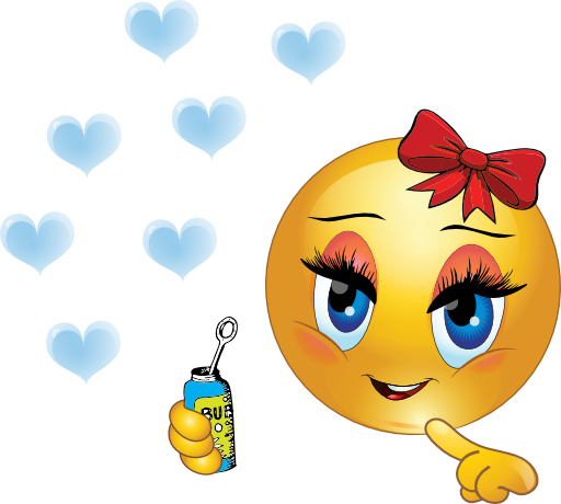 Smileys clipart shapes Smiley Hearts and Hearts Bubbles