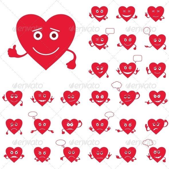 Smileys clipart shapes Smily best on Heart Pinterest