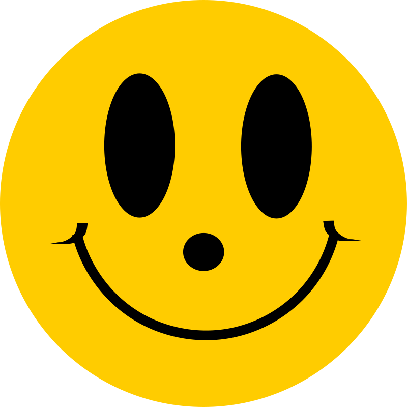 Smileys clipart simple Simple MEDIUM Face (PNG) Smiley