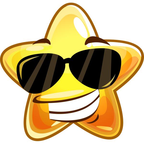 Smileys clipart sunglass Star Smileys Smileys Sunglasses and