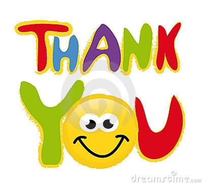 Smileys clipart thank you Free 7 Thanks Clip Animated