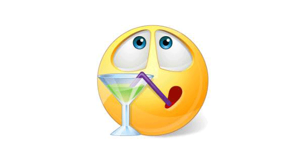 Smileys clipart thirsty Cocktail Emoticons  & Smiley