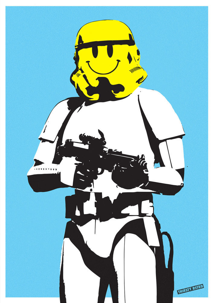 Smileys clipart thirsty Bstrd Smiley Stormtrooper Club Stormtrooper