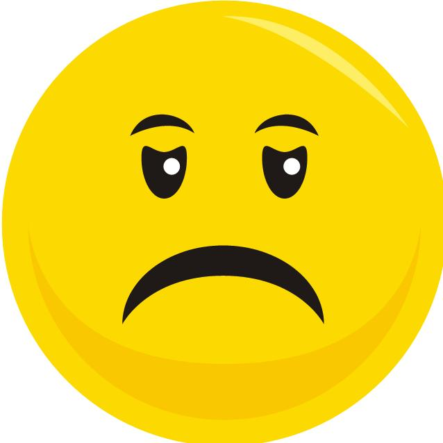Smileys clipart unhappy ClipartFest clipart transparent Smiley sad