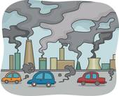 Smog clipart cloud shape Royalty Smog Art Pollution GoGraph