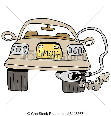 Smog clipart cloud shape Car Art of Clip a