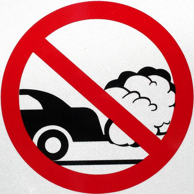 Smog clipart car pollution Vehicle  S 80% adopt
