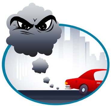 Smog clipart car pollution Ocean for Activate Solutions SBMNH: