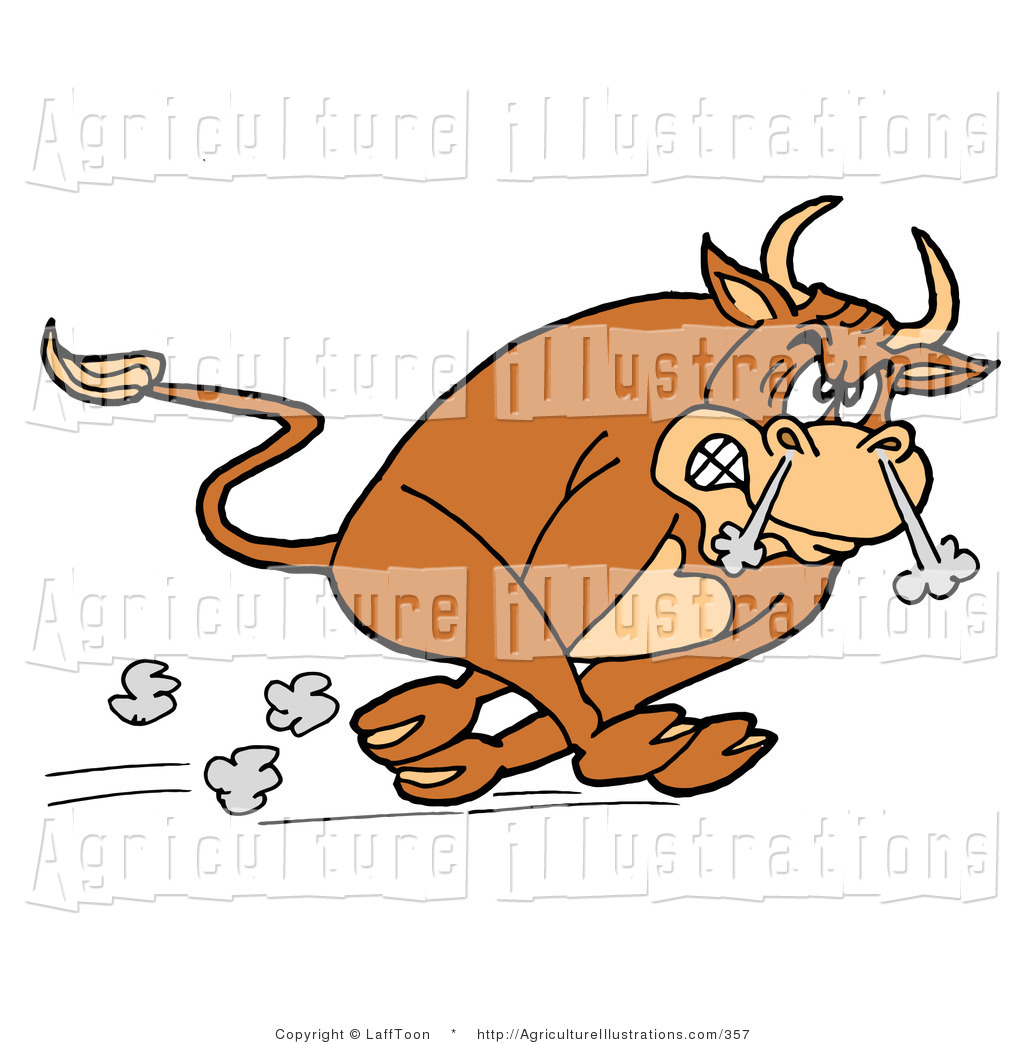 Anger clipart smoke An Raging Charging Angry Clipart