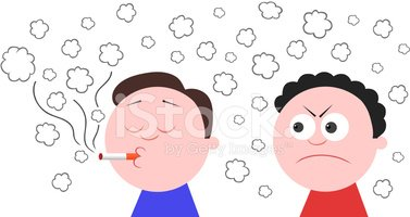 Anger clipart smoke Smoking Angry and Man Another
