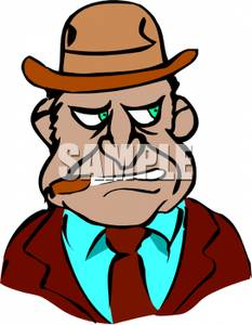 Anger clipart smoke Royalty Cigar Man Picture Free