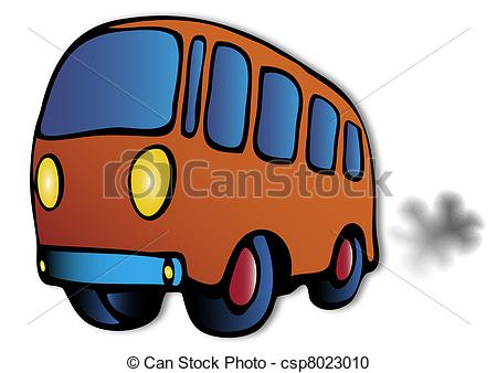 Smoking clipart bus Of bus bus Vector gas