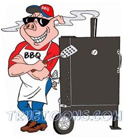 Barbecue clipart bbq smoke Art Smoke Clipart BBQ Art