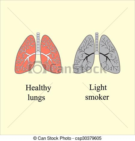 Smoking clipart light line Of Vector of smoking The