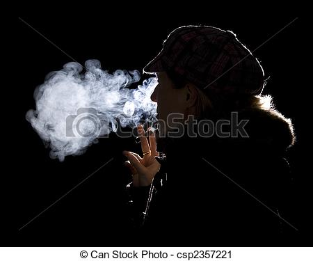 Smoking clipart light smoke Of smoking girl Using smoking