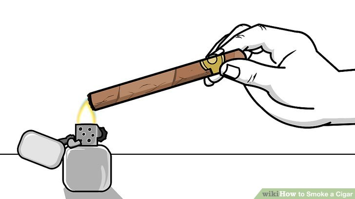 Smoking clipart light smoke To a Smoke Cigar a
