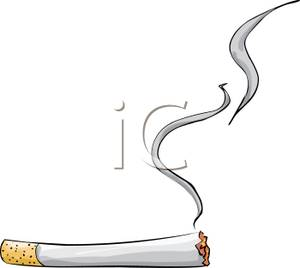 Smoking clipart realistic smoke A Picture Clipart Picture Cigarette