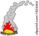Camp Fire clipart smoke Fire Explosion comfort Collection clipart