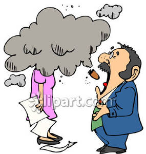 Smoking clipart smoke pollution Her Coud Her Cigar of