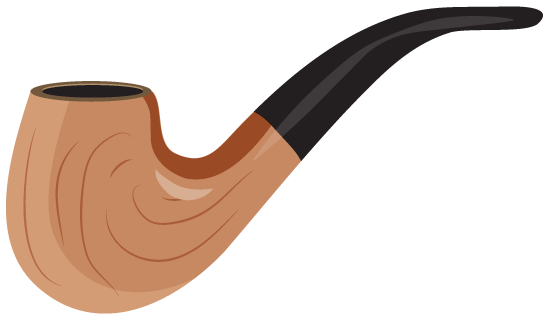 Cigar clipart smoking pipe Clip Smoking Art  Free