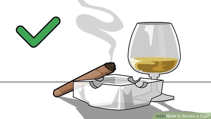 Cigar clipart puff smoke WikiHow Image Cigar a Cigar