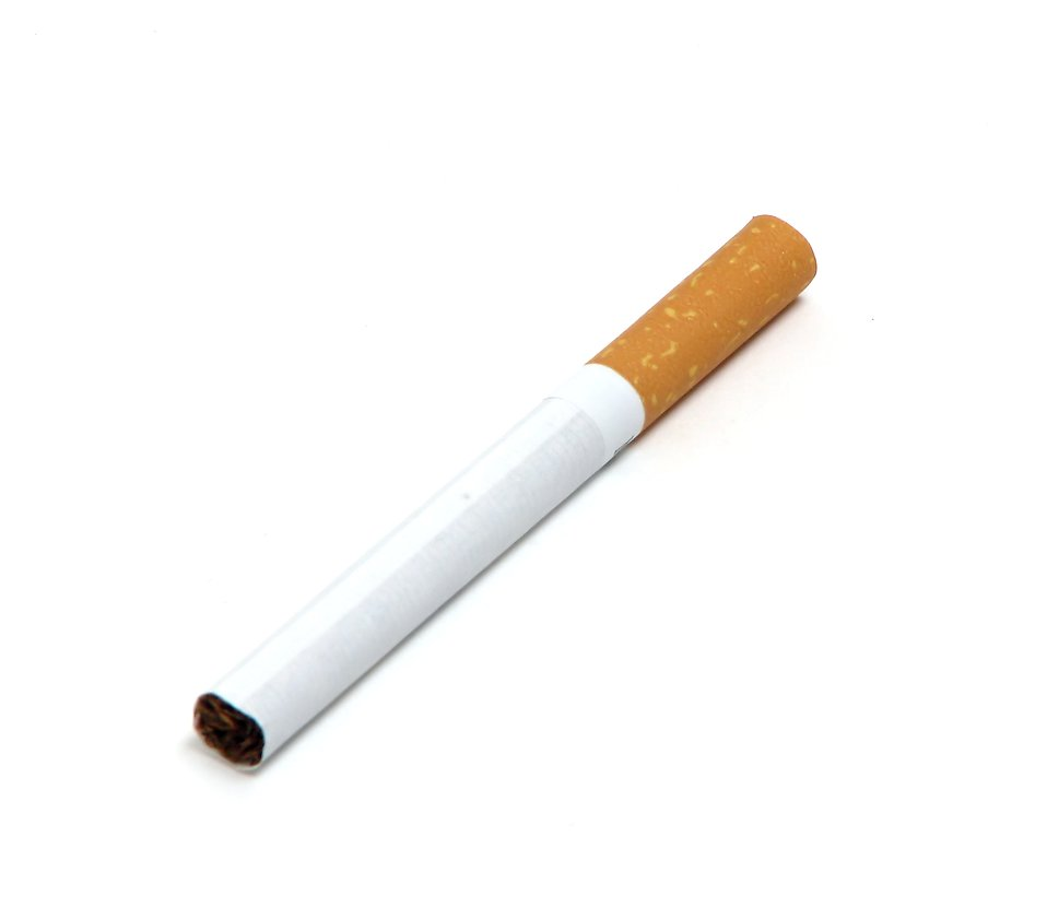 Cigarette clipart transparent background A on A white Stock