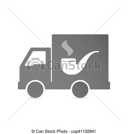 Smoking clipart truck Csp41102941 EPS truck Isolated truck