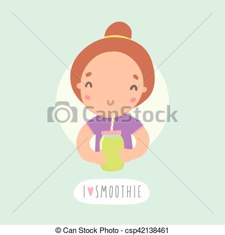 Smoothie clipart funny Vector Cute jar jar funny