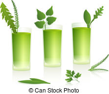 Smoothie clipart green smoothie Vector Smoothies Green Art Smoothies