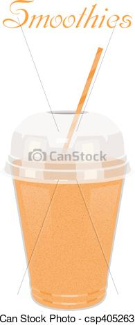 Smoothie clipart nutrition Yellow Healthy  with a